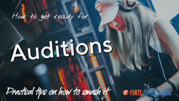 Get Ready For Auditions - Tips On How To Smash It.