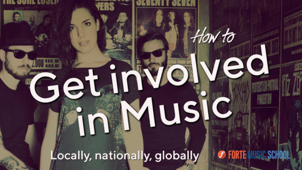 How To Get Involved In Music: Locally, Nationally And Beyond