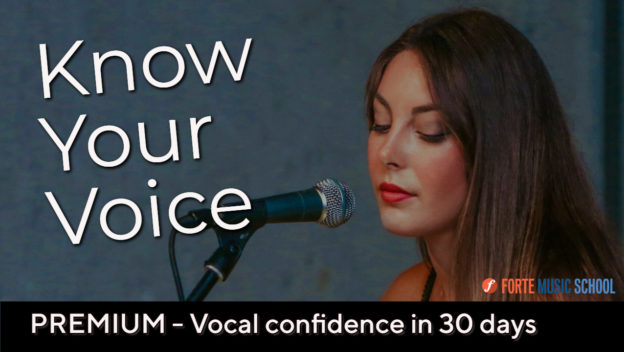 Know Your Voice: Vocal Confidence In 30 Days.