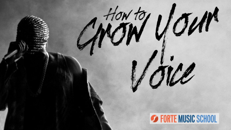 How To Grow Your Voice - Create More Sustained Tone When You Sing