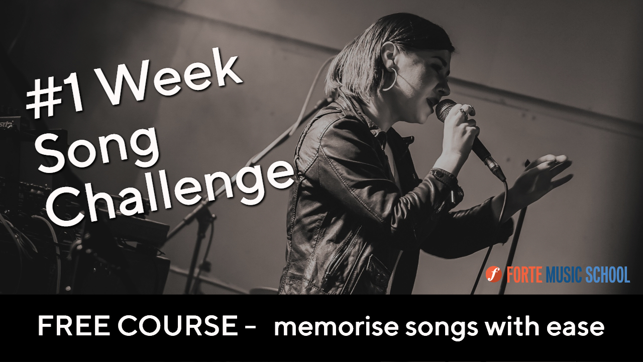 Free Singing Course 1 Week Song Challenge Youtube Thumbnail