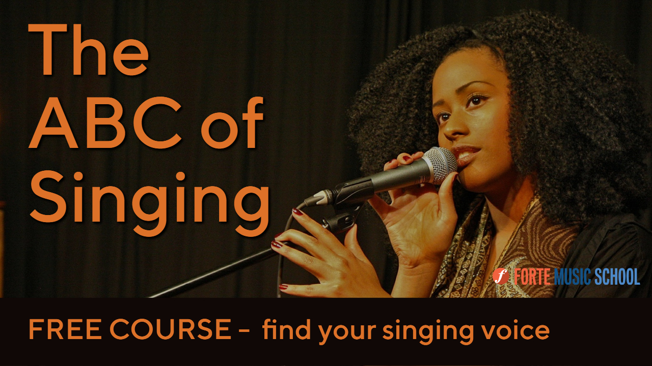Free Singing Course The Abc Of Singing Youtube Thumbnail