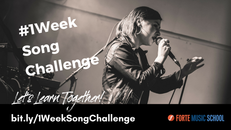 The 1 Week Song Challenge - Learn A Song In One Week!